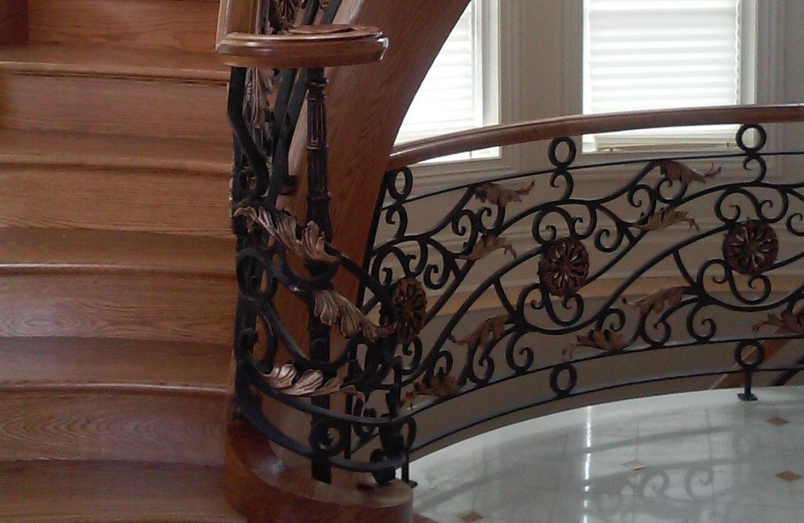 Commercial Stair Railing Detail