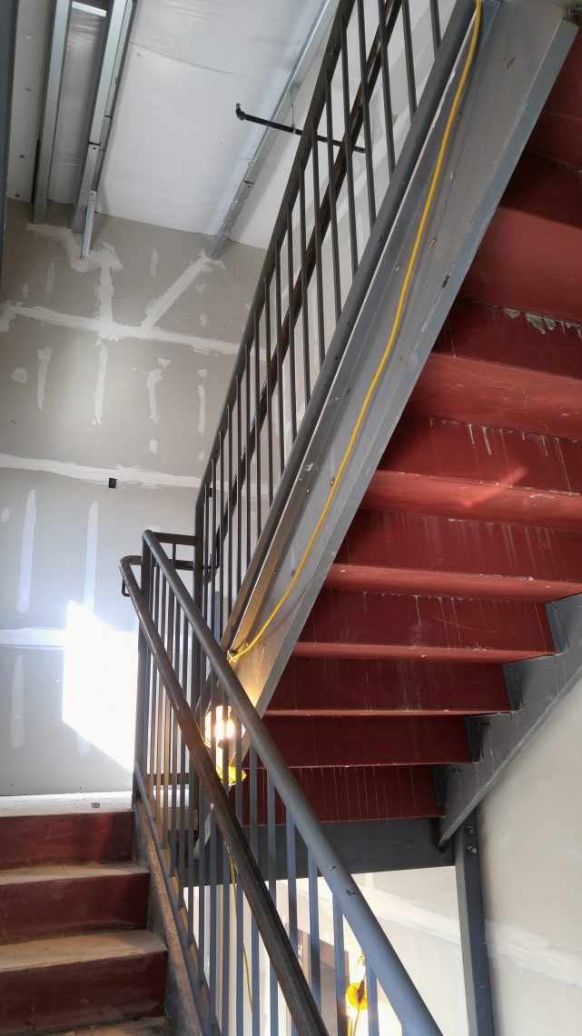 Workplace Stairs and Railing