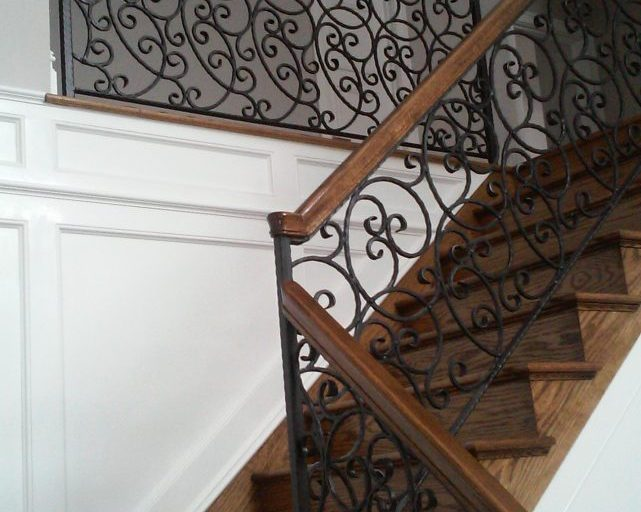 Ornamental Stair and Landing Railings