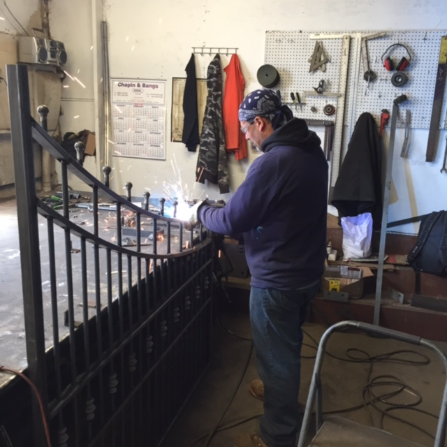 Residential Gate Fabrication