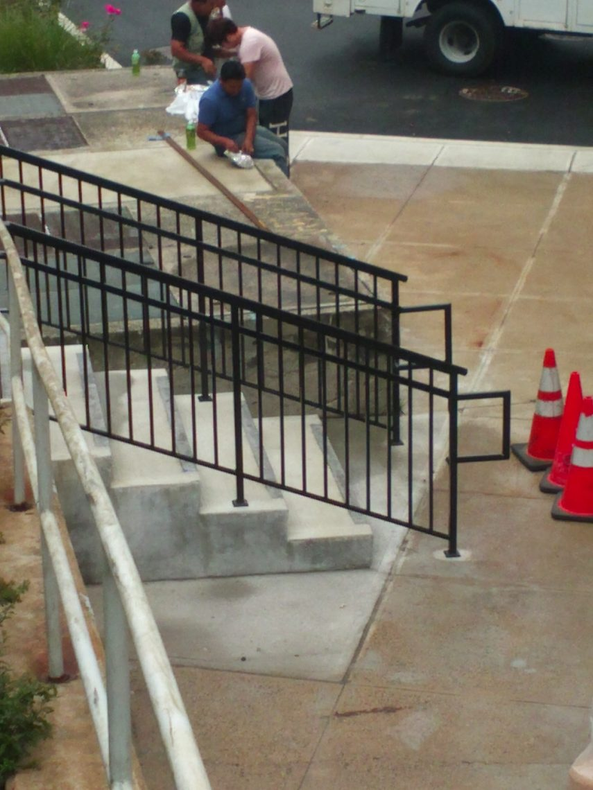 Commercial Exterior Railings
